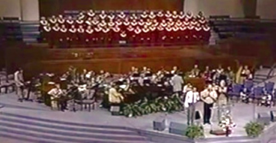 Music Ministry Choir Performance